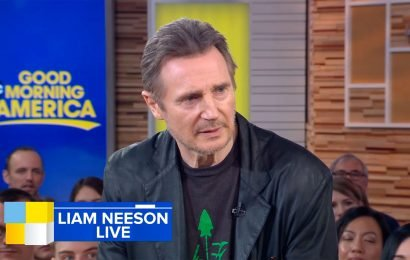 Liam Neeson tells GMA's Robin Roberts he's not racist after revenge comments
