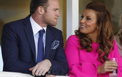 How old is Coleen Rooney, when did she marry husband Wayne and when did she give birth to her fourth child?