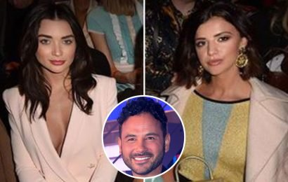 Lucy Mecklenburgh looks furious as she's forced to sit with Ryan Thomas's ex Amy Jackson at fashion event