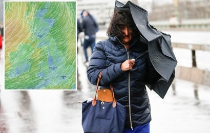 UK weather forecast – Britain hit by snow and 60mph winds TOMORROW – but bookies slash odds on hottest March ever