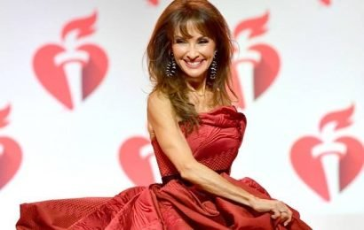 Susan Lucci Recovers Like a Pro After Falling on the Runway
