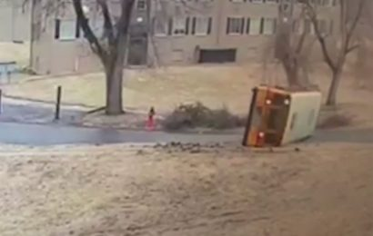 3 Students, Including Child Who Uses Wheelchair, Injured After School Bus Overturns on Icy Road
