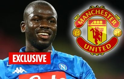 Man Utd plotting world-record £90m summer swoop for Koulibaly