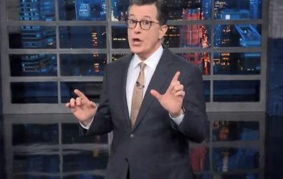 "Stephen Colbert Skewers Donald Trump's SOTU Address: ""Like Watching Paint Lie"""
