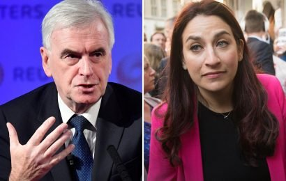 John McDonnell blames Jewish MP Luciana Berger for 'attempts to oust her' in Labour's anti-Semitism row