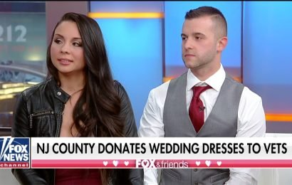 Air Force Medic & Police Officer Say 'I Do' in Special Valentine's Day Wedding on Fox & Friends
