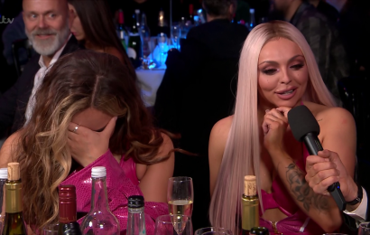 Brits 2019: Little Mix mortified as Jack Whitehall asks Jesy Nelson about her kebab shop tonguing