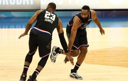 Team LeBron comes back to defeat Team Giannis in high-scoring NBA All-Star Game