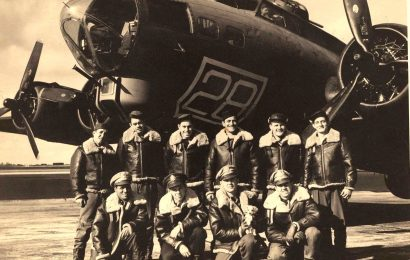 Fly-past honors WWII airmen who died saving UK children
