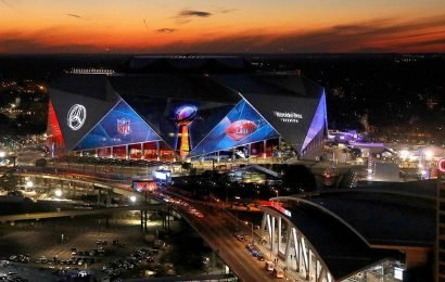 Governors of Super Bowl states make a 'charitable' wager