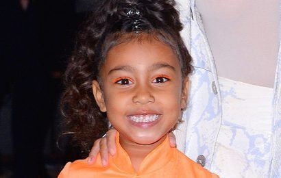 North West's 7-year-old 'boyfriend' buys Tiffany & Co. Valentine's Day gift for young star
