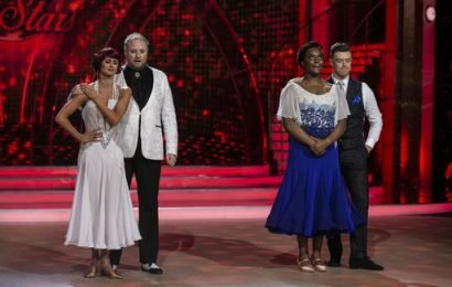 Young Offenders star Demi Isaac voted off DWTS as judges save comedian Fred Cooke despite dance-off fall