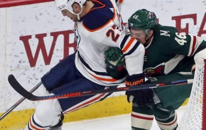 Edmonton Oilers hold off Minnesota Wild to end six-game drought with 4-1 win
