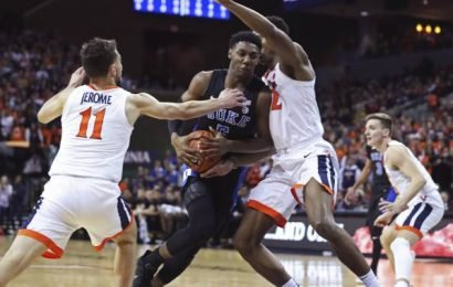 Toronto's RJ Barrett's 3s lead No. 2 Duke past No. 3 Virginia, 81-71