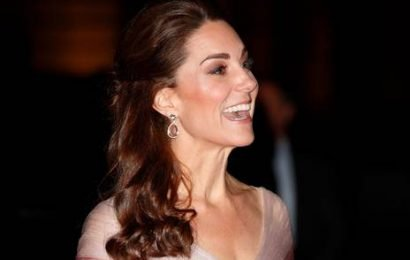 Kate Middleton wore of her dreamiest looks ever in a Valentine's gown fit for a princess