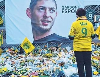 Body recovered from crashed plane identified as Emiliano Sala