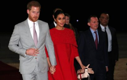 Prince Harry and Meghan Markle in Morocco on last official trip before birth of first child