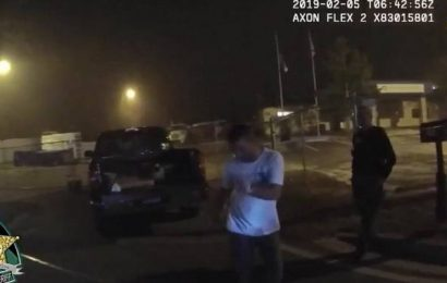 Bodycam video shows Florida man dancing during sobriety test