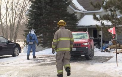 Verona volunteer firefighter a victim of a fire in his own home