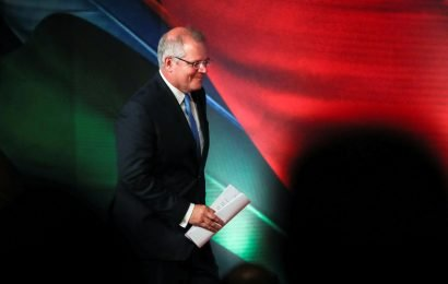 Support for Australian government rallies ahead of May election