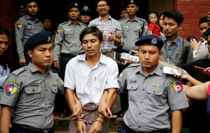 Jailed Reuters journalists appeal to Myanmar's top court as rights group decries 'fear'