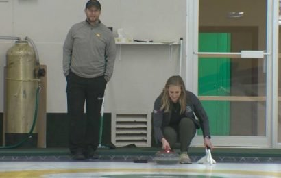 Curling a passion that now pays for Eskimos kicker Sean Whyte
