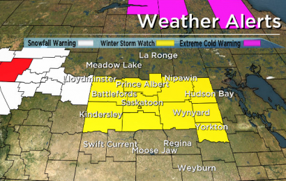 Environment Canada issues winter storm watch for central Saskatchewan