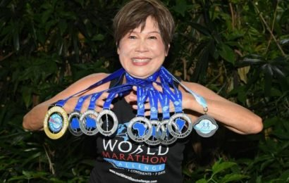 Athletics: Singapore's Gloria Lau, 67, oldest woman to complete 7 marathons in 7 continents in 7 days