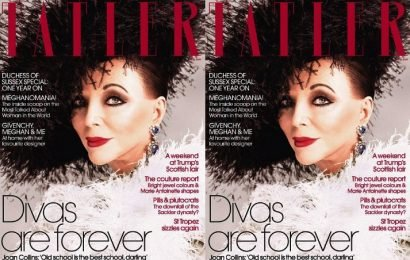 Joan Collins Spills on Pilates Mishap That Landed Her in Hospital