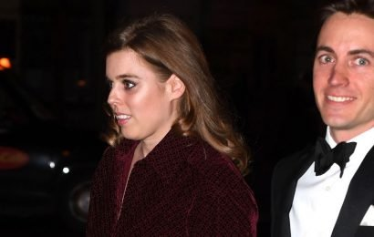 Glamorous Princess Beatrice makes first official appearance with new boyfriend