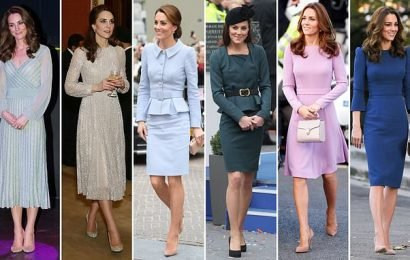 Kate Middleton buys almost IDENTICAL outfits from different designers