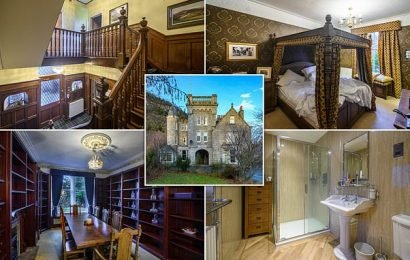 Scottish mansion near to the Queen's Balmoral Castle on sale for £750k