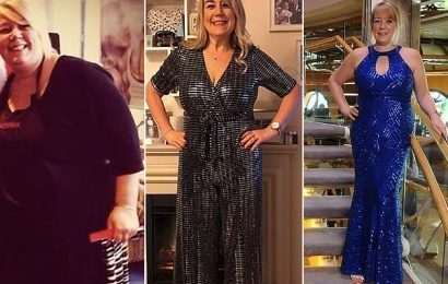 'Takeaway queen' 46, sheds 10st after swapping deliveries for exercise