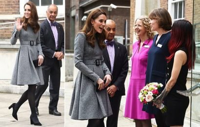 Kate Middleton visits the Foundling Museum in London