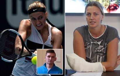 Man who stabbed Petra Kvitova sentenced to eight years in prison
