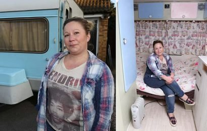 Woman who turned a caravan into a shelter threatened with £5,000 fine