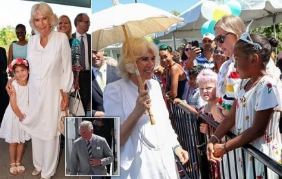 Duchess of Cornwall officially opens a hospice in the Cayman Islands