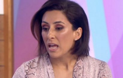 Saira Khan was severely depressed after The Apprentice and in 'downward spiral'