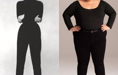 This Brand Just Recreated Iconic Denim Ads With Plus Size Models
