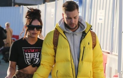 Chris Hughes gushes over Jesy Nelson romance as he calls her his 'best friend'