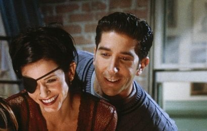 Friends' Ross and Monica have one awkward secret in common with their parents