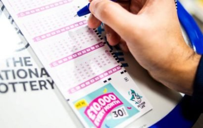 Saturday's winning National Lottery numbers for £4.1million Lotto jackpot