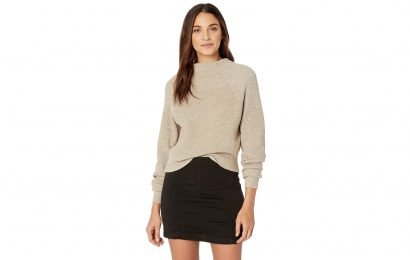 We Can't Stop Swooning Over This Feminine and Flattering Sweater!