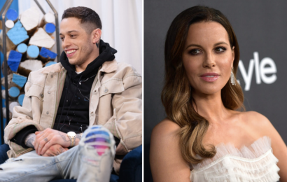 Pete Davidson & Kate Beckinsale's Relationship Timeline Is Super Flirty
