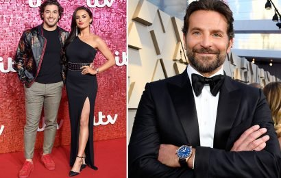 Amber Davies says she's glad she's rid of Kem Cetinay and sets her sights on Bradley Cooper