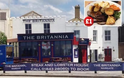 Britain's cheapest roast dinner? Pub offers Sunday lunch with all the trimmings for just £1