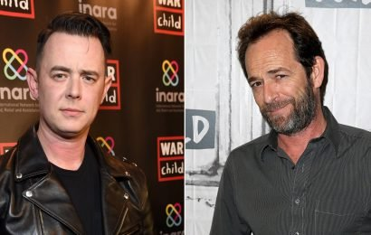 Colin Hanks Shares Heartwarming Story After Luke Perry's Death