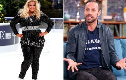Dancing On Ice's Jason Gardiner apologises to Gemma Collins and denies bodyshaming her, saying he thought GC was 'a brand of white goods appliance'
