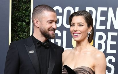 Getting Cheeky! Jessica Biel Grabs Justin Timberlake's Butt at His Concert