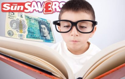 From personalised tomes to classics for kids, here are the best World Book Day deals — plus win £15,000 on the Sun Savers Raffle